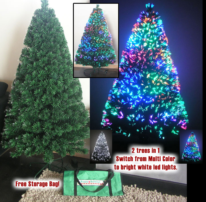 3ft Fiber Optic Christmas Tree - 36 Fiber Optic Christmas Tree