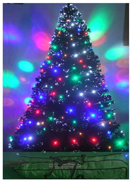 5ft Fiber Optic Christmas Tree Pre Lit - 36 Fiber Optic Christmas Tree