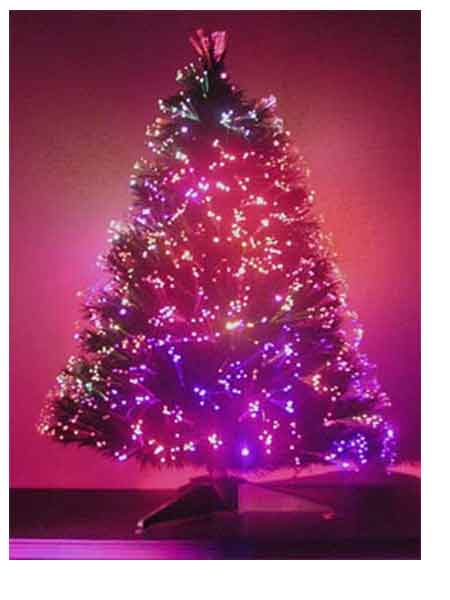 2 Ft Fiber Optic Christmas Tree - 36 Fiber Optic Christmas Tree